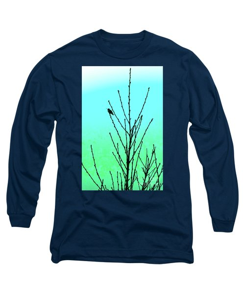 Hummingbird After Rain Long Sleeve T-Shirt