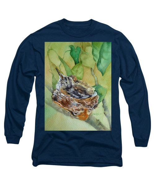 Hummingbird Nestiing Long Sleeve T-Shirt