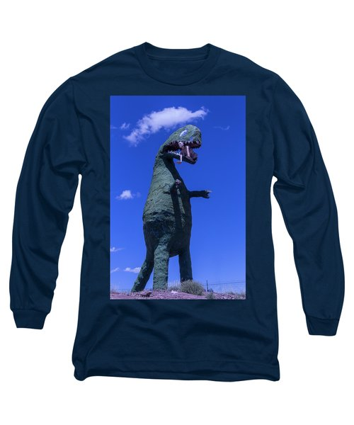 Hungry Dinosaur Head In The Clouds Long Sleeve T-Shirt