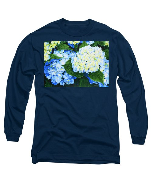 Hydrangeas Long Sleeve T-Shirt