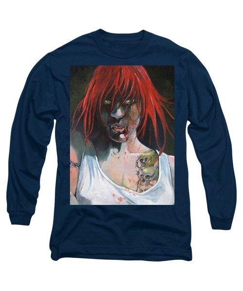 Il-belliegha Long Sleeve T-Shirt by Ray Agius