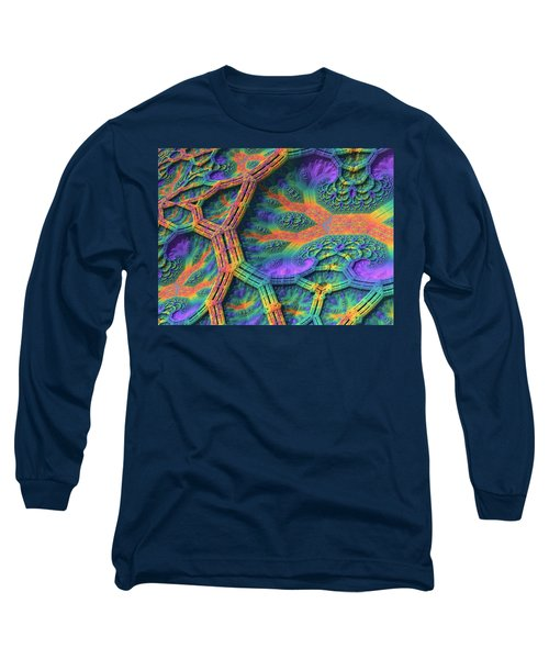 Long Sleeve T-Shirt featuring the digital art I Don't Do Drugs, Just Fractals by Lyle Hatch