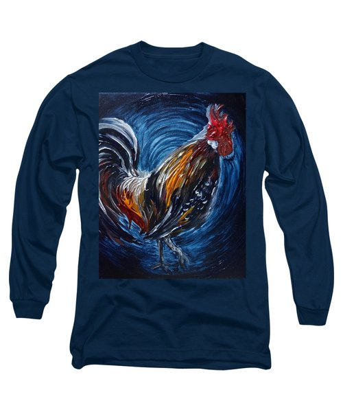 I Gayu Guam Rooster Long Sleeve T-Shirt