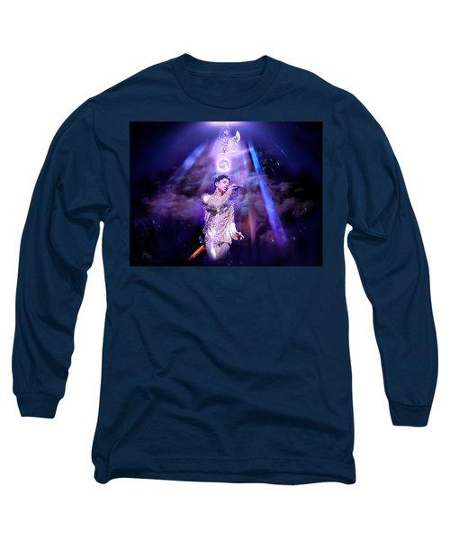 I Love You - Prince Long Sleeve T-Shirt by Glenn Feron