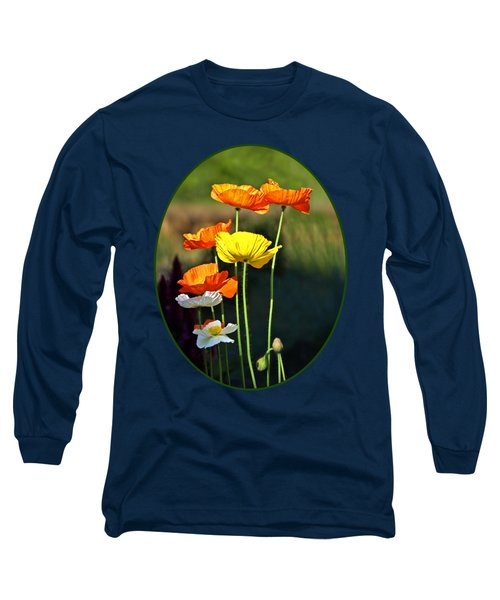 Iceland Poppies In The Sun Long Sleeve T-Shirt