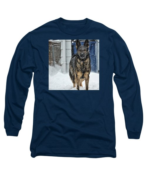 Long Sleeve T-Shirt featuring the photograph If You Dare by Nikki McInnes
