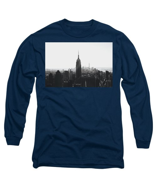 I'll Take Manhattan  Long Sleeve T-Shirt by J Montrice