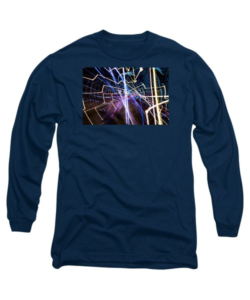 Image Burn Long Sleeve T-Shirt by Micah Goff