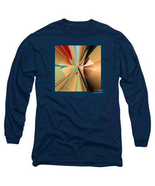 Long Sleeve T-Shirt featuring the digital art Imperfection And Harmony by Leo Symon