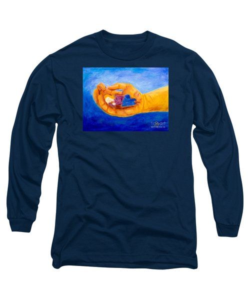 In God's Hand Long Sleeve T-Shirt
