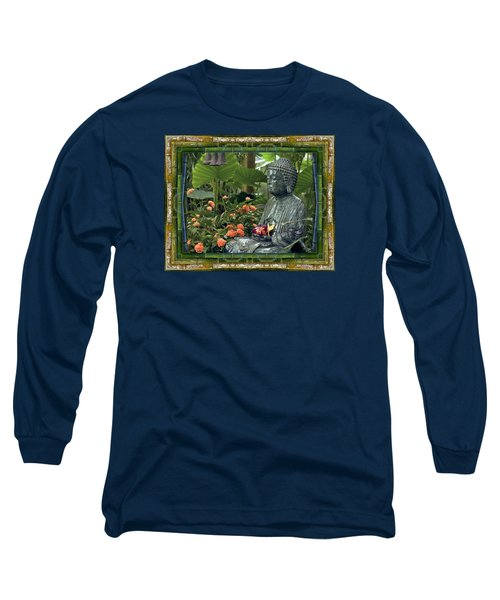 Long Sleeve T-Shirt featuring the photograph In Repose by Bell And Todd