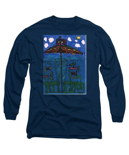 In Search Of Life Long Sleeve T-Shirt by Darrell Black