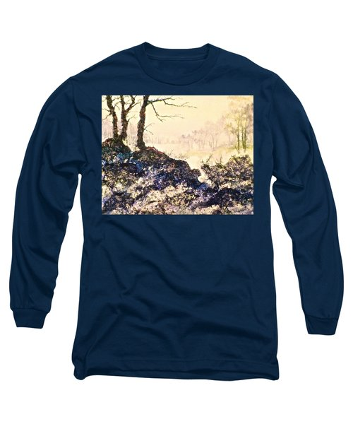 Long Sleeve T-Shirt featuring the painting In The Distance by Carolyn Rosenberger
