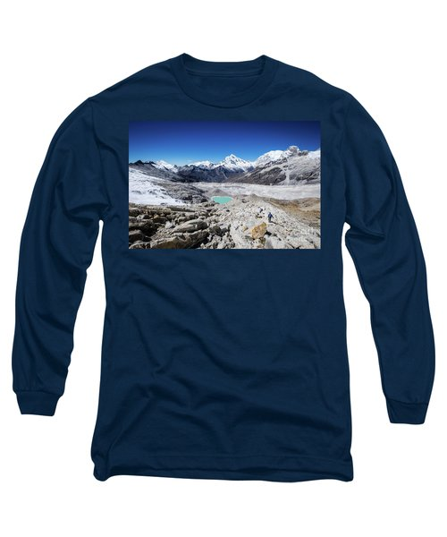 In The Middle Of The Cordillera Blanca Long Sleeve T-Shirt