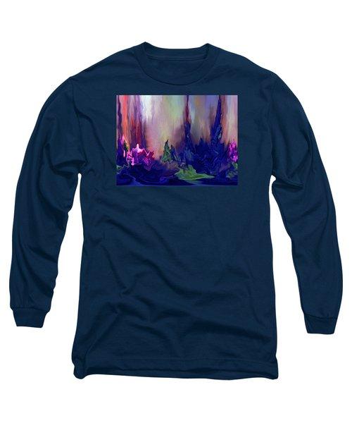 Indigo Rising Long Sleeve T-Shirt by Cedric Hampton