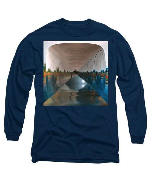 Infinity Home Long Sleeve T-Shirt by Mario Carini