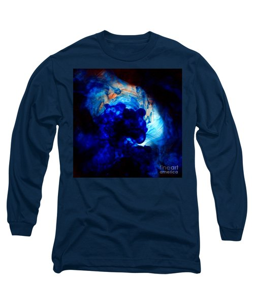 Ink Swirls 002 Long Sleeve T-Shirt