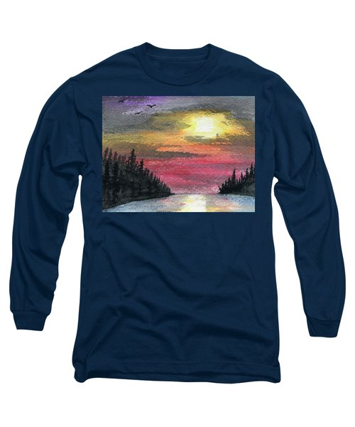 Inlet Long Sleeve T-Shirt by R Kyllo