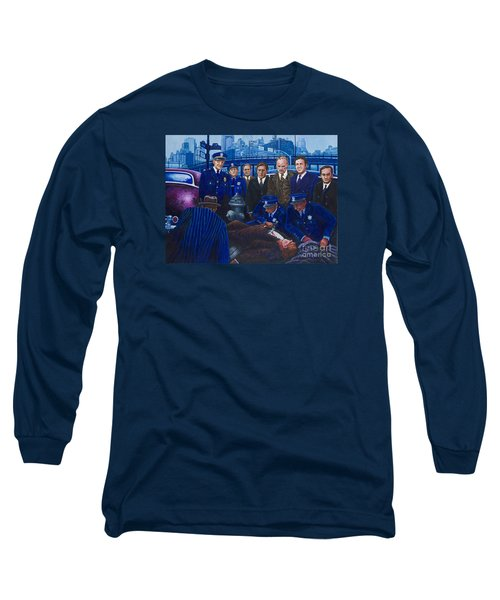 Innocent Bystanders Long Sleeve T-Shirt by Michael Frank