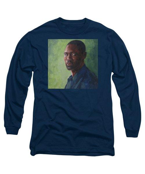 Intense Gaze Long Sleeve T-Shirt