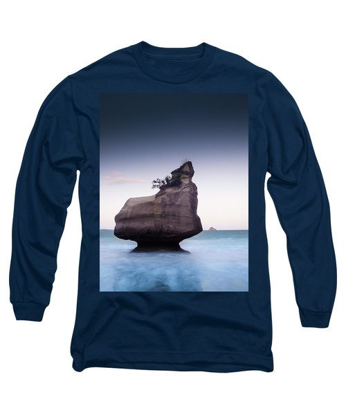 Into The Blue Long Sleeve T-Shirt by Alex Conu