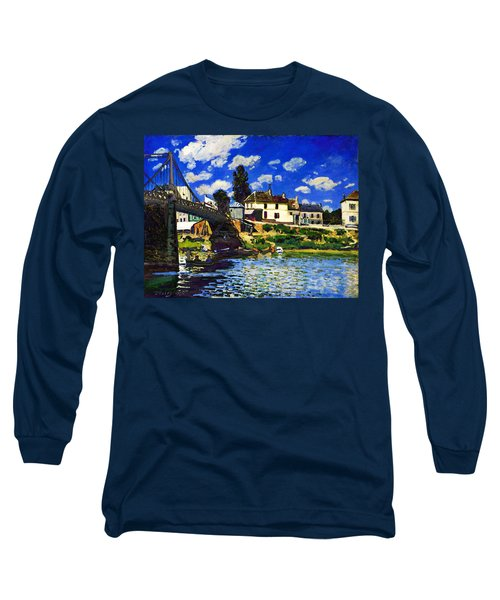 Inv Blend 14 Sisley Long Sleeve T-Shirt by David Bridburg