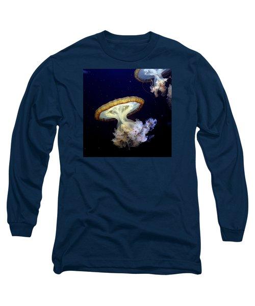 Invasion Of The Japanese Sea Nettles Long Sleeve T-Shirt