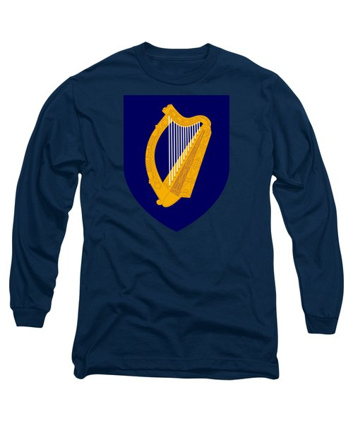 Long Sleeve T-Shirt featuring the drawing Ireland Coat Of Arms by Movie Poster Prints
