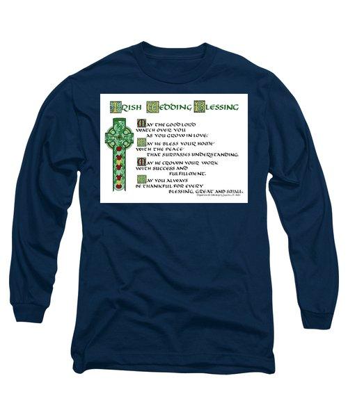 Irish Celtic Wedding Blessing Long Sleeve T-Shirt