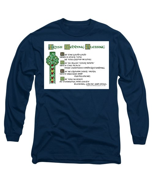 Irish Celtic Wedding Blessing Long Sleeve T-Shirt