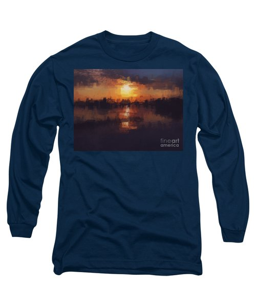 Island In The City Long Sleeve T-Shirt