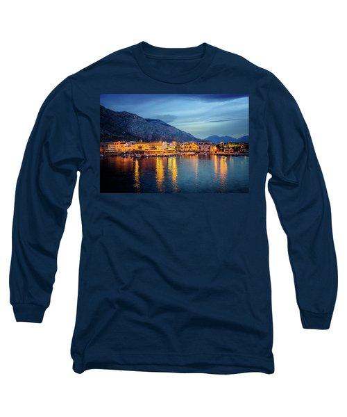 Isola Delle Femmine Harbour Long Sleeve T-Shirt