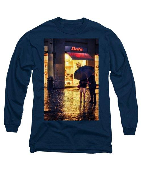 It Is Raining In Firenze Long Sleeve T-Shirt