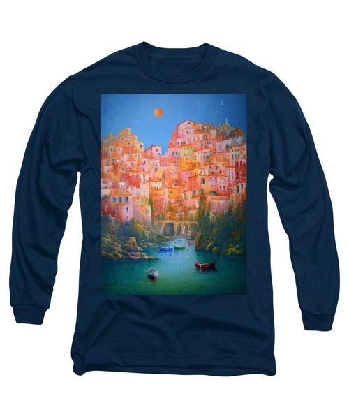 Impressions Of Italy   Long Sleeve T-Shirt