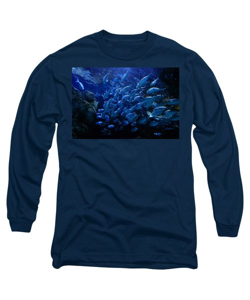 Long Sleeve T-Shirt featuring the photograph It's Time For School by Linda Unger