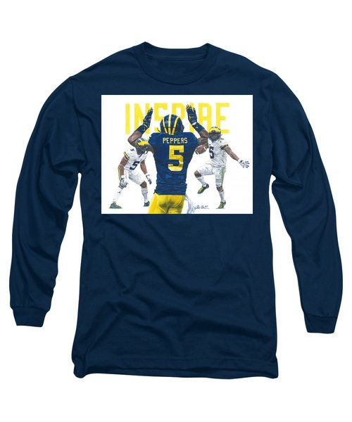 Jabrill Peppers Long Sleeve T-Shirt