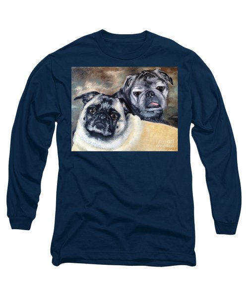 Jack And Bella Long Sleeve T-Shirt by Diane Daigle