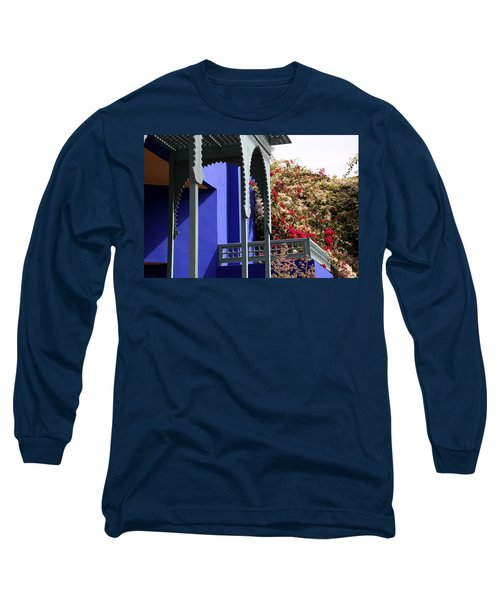 Long Sleeve T-Shirt featuring the photograph Jardin Majorelle 3 by Andrew Fare
