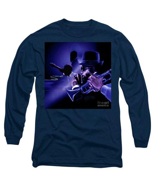 Jazz In Da Dusk Long Sleeve T-Shirt