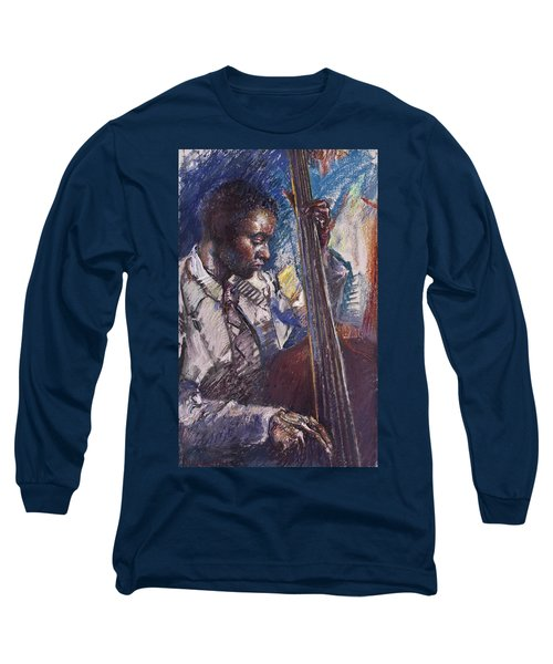 Jazz Man Long Sleeve T-Shirt