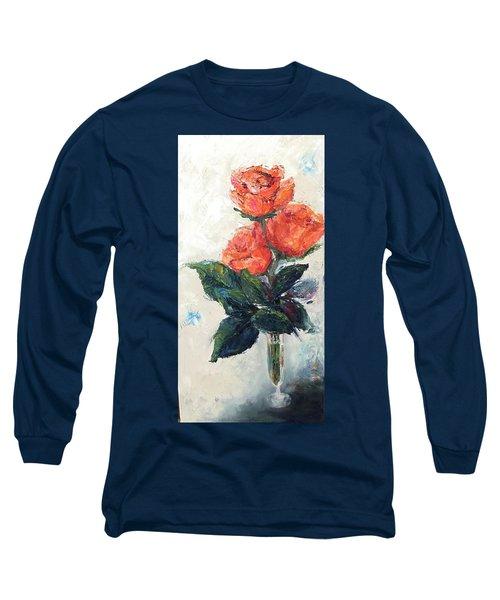 Jeannie's Roses Long Sleeve T-Shirt