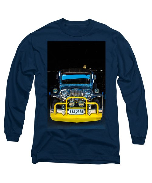 Jeepney, Manila Long Sleeve T-Shirt