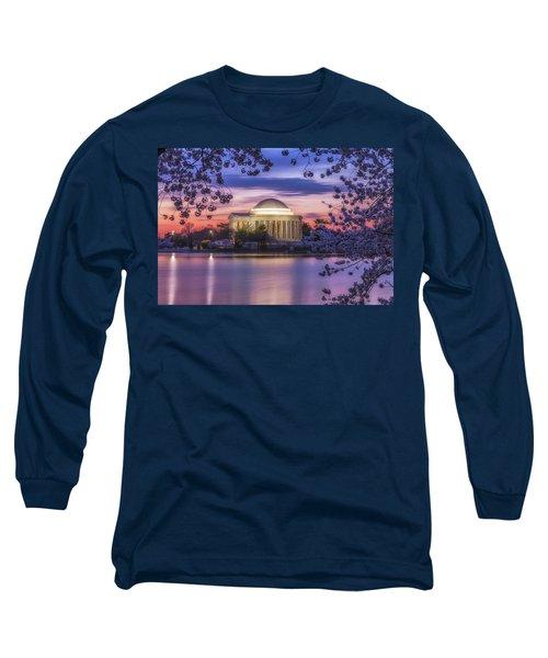 Jefferson Memorial Pre-dawn Long Sleeve T-Shirt