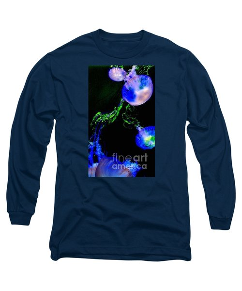 Long Sleeve T-Shirt featuring the photograph Jellylights by Vanessa Palomino