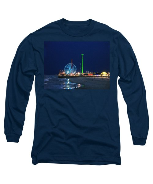 Jersey Shore Long Sleeve T-Shirt by Steve Karol