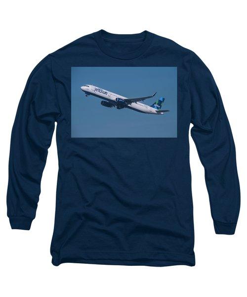 jetBlue Airbus A321 Long Sleeve T-Shirt