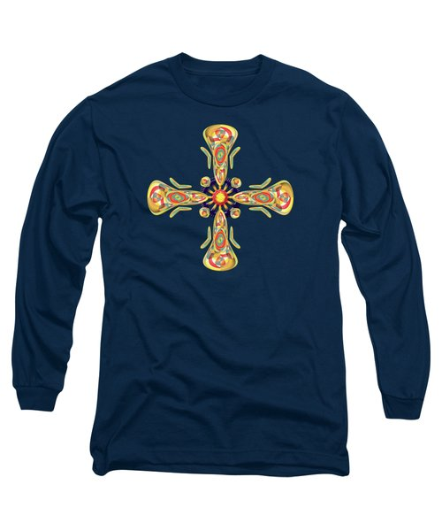 Jewelry Cross Long Sleeve T-Shirt