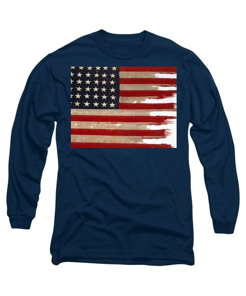 Jfk's Pt-109 Flag Long Sleeve T-Shirt