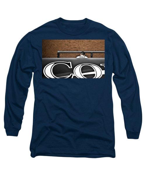 Jim Tracy Rockies Manager Long Sleeve T-Shirt
