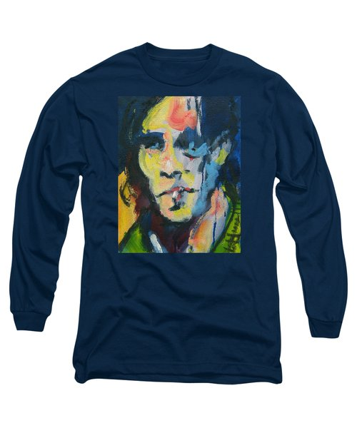 Johnny Long Sleeve T-Shirt by Les Leffingwell